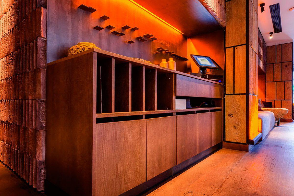 барная стойка для ресторана