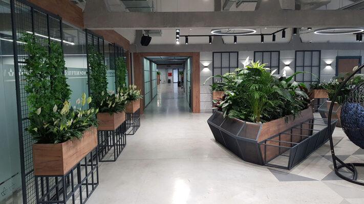 изготовление мебели и интерьеров для офисов